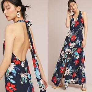 HTF NWT ANTHROPOLOGIE Yumi Kim Silk Hibiscus Dress